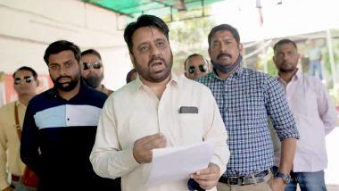 Delhi Police Registers FIR Against AAP MLA Amanatullah Khan for Threatening Religious Leader Narsinghanand