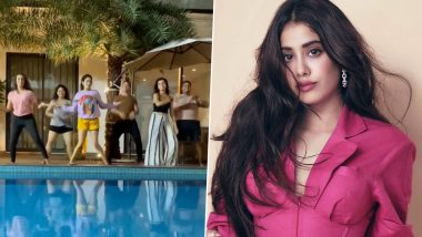 Janhvi Kapoor's Latest Post Will Give You Major Weekend Vibes As She Shares a Fun Reel Dancing With Her Friends (Watch Video)