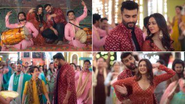 Sardar Ka Grandson Song Jee Ni Karda: Arjun Kapoor and Rakul Preet Groove to Punjabi Tunes In This Energetic Number (Watch Video)