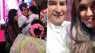 Jeetendra Turns 79! Ekta Kapoor Goes Down the Memory Lane to Extend Heartfelt Birthday Wish for Dear Father (View Post)