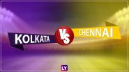 KKR vs CSK Highlights of VIVO IPL 2021: Chennai Super Kings Beat Kolkata Knight Riders by 18 Runs