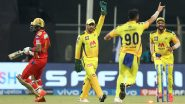 PBKS vs CSK IPL 2021 Stat Highlights: Milestone Nights For MS Dhoni, Deepak Chahar As Chennai Super Kings Cruise To Easy Win