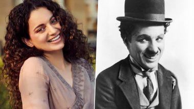 Charlie Chaplin Birth Anniversary: Kangana Ranaut Pays Heartfelt Tribute to the Legendary Comedian (Read Tweet)