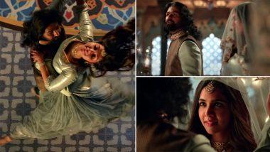 Marakkar Arabikadalinte Simham Song Kannil Ente Teaser: Pranav Mohanlal, Kalyani Priyadarshan's Track Feels Like It Belongs to a Sanjay Leela Bhansali Movie (Watch Video)