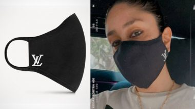 Kareena Kapoor Khan's Louis Vuitton Face Mask Is Just for the Elites As It Costs Rs 26,000!