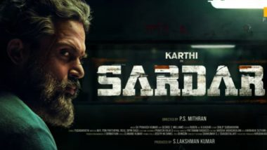 Karthi and Raashii Khanna's Next Titled Sardar; Motion Poster of the Film Looks Intriguing (Watch Video)