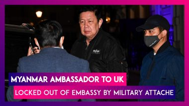 Myanmar Ambassador To UK Locked Out Of Embassy By Military Attache Over Coup Criticism