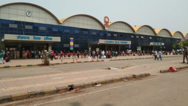Mumbai: Passenger Rush Outside Lokmanya Tilak Terminus After Maharashtra Govt Announced Restrictions, Central Railway Asks People Not To Panic