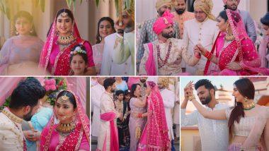 Madhanya Song Out! Rahul Vaidya And Disha Parmar Look Beautiful In This Dress Rehearsal Of Their Real Wedding (Watch Video)