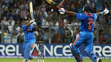 MS Dhoni, Gautam Gambhir, Yuvraj Singh Hailed on Twitter as India's 2011 World Cup Triumph Completes 10 Years!