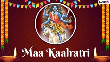 Chaitra Navratri 2021 Day 7: Vaishno Devi Aarti Live Streaming to Worship Maa Kaalratri on the Seventh Day of Navaratri (Watch Video)