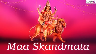 Chaitra Navratri 2021 Day 5: Vaishno Devi Aarti Live Streaming to Worship Goddess Skandmata on the Fifth Day of Navaratri (Watch Video)