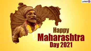 Happy Maharashtra Day 2021 Wishes, Greetings, and Messages: Marathi Quotes, Maharashtra Din HD Images, Telegram Photos & WhatsApp Stickers to Celebrate May 1