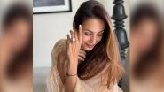 Malaika Arora Sparks Engagement Rumours As She Poses With a Diamond Ring (View Pics)
