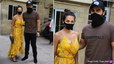 Arjun Kapoor Attends Easter Lunch With Malaika Arora And Her Parents (View Pics)