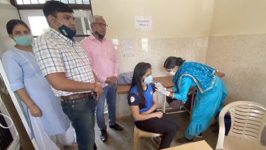 Manu Bhaker Receives First Jab of Covidshield COVID-19 Vaccine, Ace Shooter Shares Pic