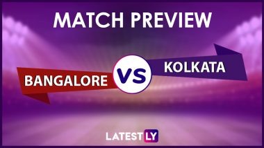 RCB vs KKR Preview: Likely Playing XIs, Key Battles, Head to Head and Other Things You Need To Know About VIVO IPL 2021 Match 10