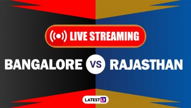 RCB vs RR, IPL 2021 Live Cricket Streaming: Watch Free Telecast of Royal Challengers Bangalore vs Rajasthan Royals on Star Sports and Disney+Hotstar Online