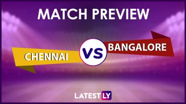 CSK vs RCB Preview: Likely Playing XIs, Key Battles, Head to Head and Other Things You Need To Know About VIVO IPL 2021 Match 19