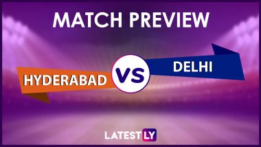SRH vs DC Preview: Likely Playing XIs, Key Battles, Head to Head and Other Things You Need To Know About VIVO IPL 2021 Match 20