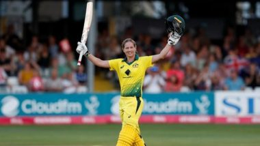ICC Women's ODI Rankings 2021: Australia Captain Meg Lanning Moves to Fifth Spot, Tammy Beaumont Sits at the Top