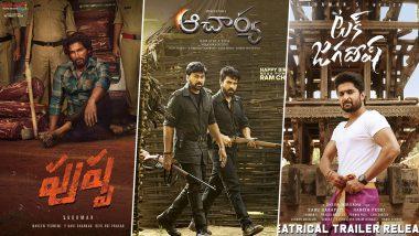 From Allu Arjun's Pushpa, Chiranjeevi's Acharya to Nani's Tuck Jagadish; These Most-Awaited Telugu Films Suffer Due to COVID-19 Pandemic