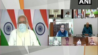 PM Narendra Modi Holds Meeting with Chief Ministers of High COVID-19 Burden States