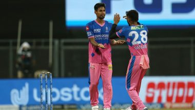 IPL 2021 Points Table After RR vs KKR Match: Rajasthan Royals Climb to Sixth in Team Standings With Six-Wicket Win Over Kolkata Knight Riders