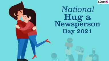 National Hug a Newsperson Day 2021 Date & Significance: Know More About the Day Dedicated to Journalists and Their Contribution to the Society