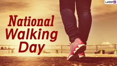 National Walking Day 2021 (US): From Strengthening Heart to Lowering Blood Sugar, Here Are 5 Benefits of Taking a Walk Everyday