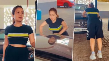Neha Kakkar Reveals How She Keeps Up With Her Workout Sessions During the Lockdown (Watch Video)