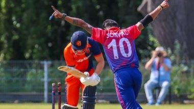 Live Cricket Streaming of Nepal vs Netherlands Tri-Nation Series T20I Series 2021 Online: How to Watch Free Live Telecast of NEP vs NED Match on FanCode?