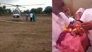Rajasthan Family Gets First Girl Child in 35 Years, Father Hires Rs 4.5 Lakh Chopper To Bring Baby Home
