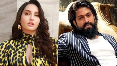 KGF Chapter 2: Nora Fatehi To Go the 'Mehbooba' Way in This Yash-Starrer – Reports