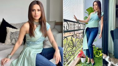 Nushrratt Bharuccha Makes a Strong Case for Casual Fashion and We're Digging It