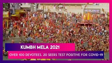 Kumbh Mela 2021: Over 100 Devotees, 20 Seers Test Positive For COVID-19