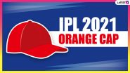 IPL 2021 Orange Cap Holder List: Nitish Rana Climbs on Top of Run-Scoring Chart, Sanju Samson Drops to Second