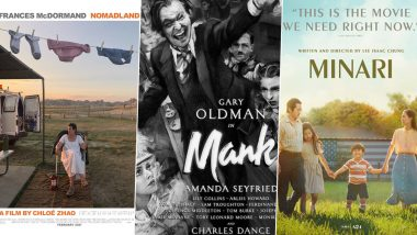 Oscars 2021: Nomadland, MANK or Minari – Predicting the Winner in Every Major Category of the 93rd Academy Awards!