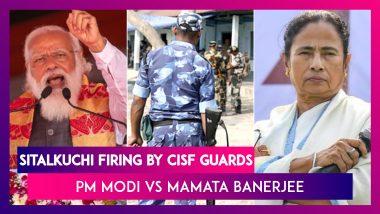 Sitalkuchi Firing By CISF Guards: Mamata Banerjee Calls It Genocide, PM Modi Blames The TMC Leader   WB Polls 2021