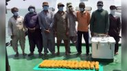 Indian Coast Guard Arrests Eight Pakistani Nationals With Boat Carrying 30 Kgs of Heroin, Worth Rs 300 Crore off Jakhau, Gujarat