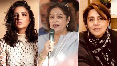 Kirron Kher Diagnosed With Multiple Myeloma: Parineeti Chopra, Neetu Kapoor, Shilpa Shetty and Others Wish the Veteran Actress a Speedy Recovery