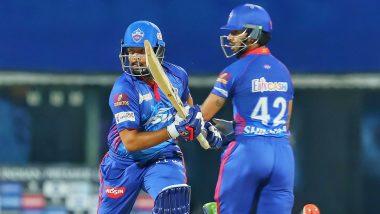 SRH vs DC IPL 2021 Stat Highlights: Prithvi Shaw, Axar Patel Shine As Delhi Capitals Beat Sunrisers Hyderabad in Super Over