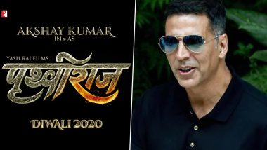 Prithviraj: Akshay Kumar-Starrer To Be Based on Chand Bardai's Epic Poem 'Prithviraj Raso'