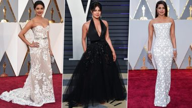 Oscars 2021: Times When Priyanka Chopra Sashayed on the Red Carpet of the Academy Awards and Stole Hearts!