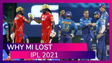 Punjab vs Mumbai IPL 2021: 3 Reasons Why Mumbai Lost