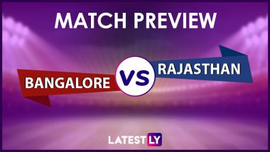 RCB vs RR Preview: Likely Playing XIs, Key Battles, Head to Head and Other Things You Need To Know About VIVO IPL 2021 Match 16