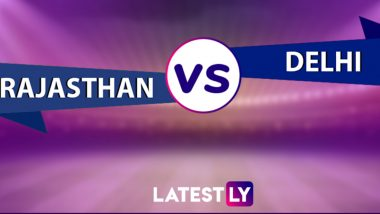RR 36/4 in 7.4 Overs (Target 148) | RR vs DC Live Score Updates of VIVO IPL 2021: Avesh Khan Removes Shivam Dube