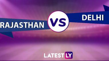 RR vs DC Highlights of VIVO IPL 2021: Rajasthan Royals Beat Delhi Capitals by Three Wickets
