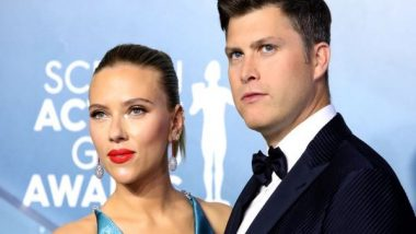 Colin Jost Spotted Carrying Stepdaughter 'Rose' After Dinner With Scarlett Johansson