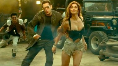 Radhe Song Seeti Maar Poster Out! Salman Khan and Disha Patani's First Track From the Film To Be On Out on April 26